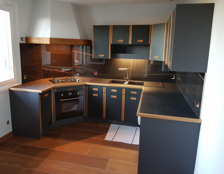 Modernisation cuisine à Bâgé-la-Ville