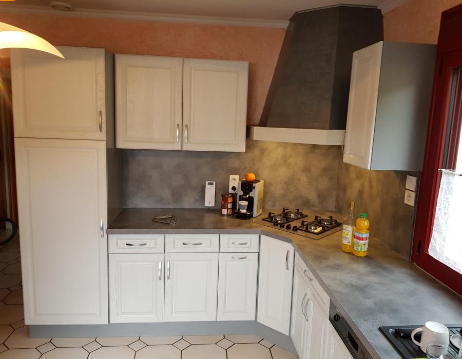 Rénovation cuisine à Chassal dans le Jura